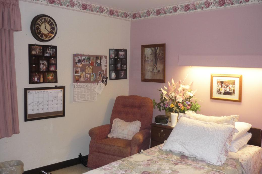 Decorating a Nursing Home Room