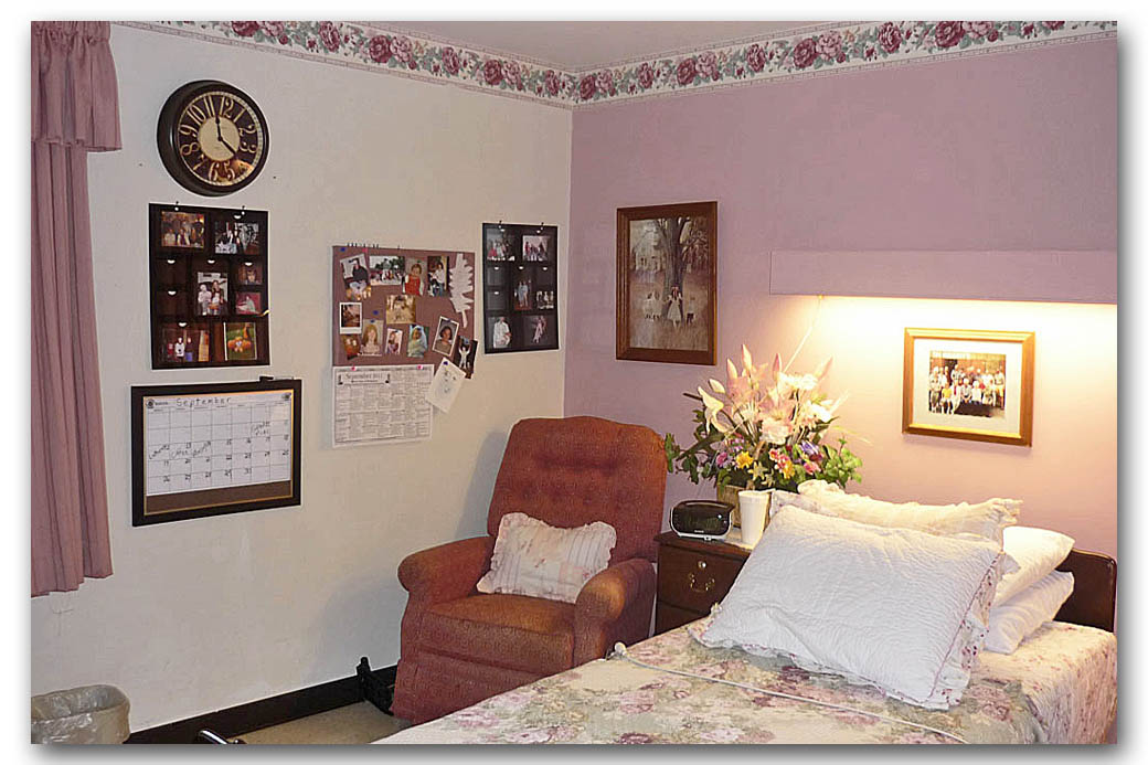 How To Decorate A Nursing Home Room