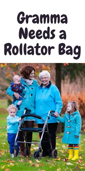 Rollator Walker Bags