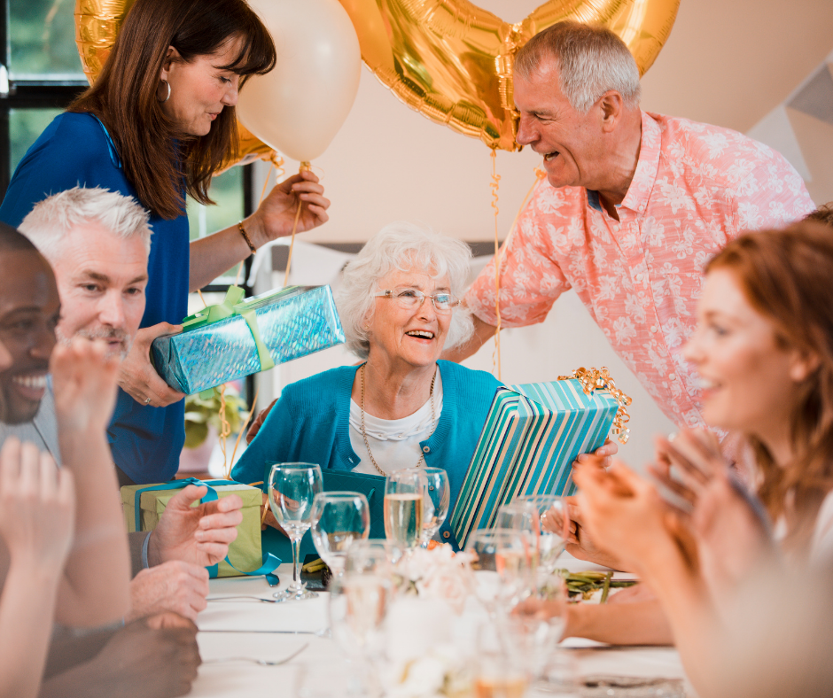 Senior Citizen Birthday Party Ideas