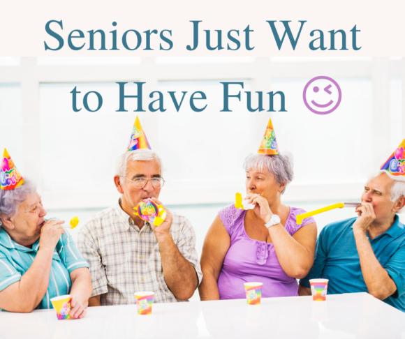 Senior Citizen Birthday Party Ideas